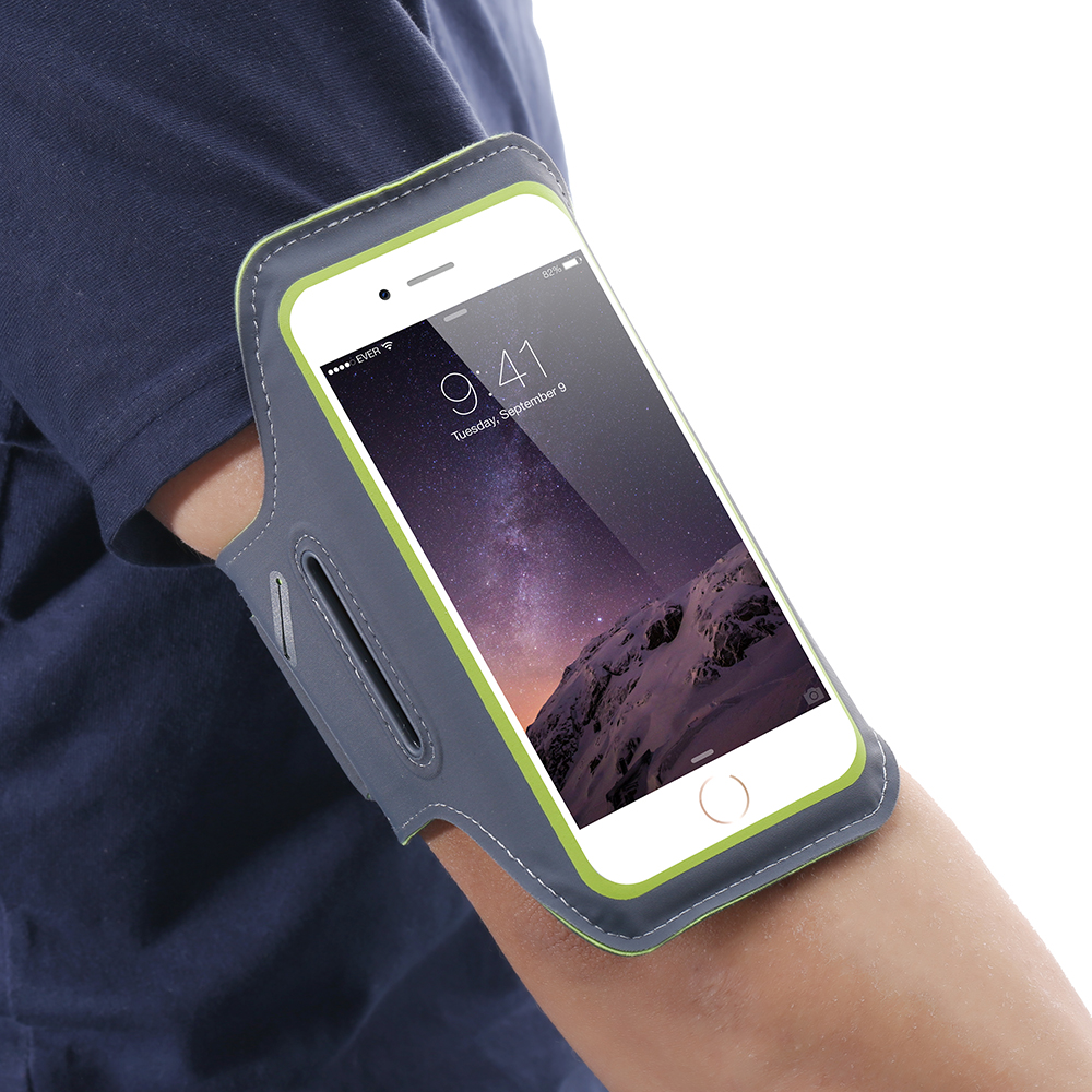 new concept 333b1 7f606 US $3.99 20% OFF|FLOVEME Waterproof Sport Arm Band For iPhone 6 6s 7 8 Plus  Armband 5.5 Inch Universal Cover For Running GYM Mobile Phone Capinha-in ...