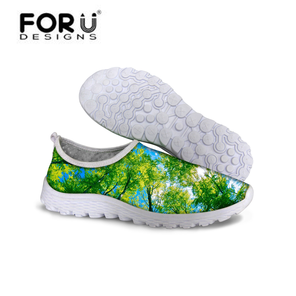 FORUDESIGNS Summer Breathable Shoes Woman,2017 Ladies Casual Flats Slip On Shoes for Women,Womens Light Flat Walking Mesh Shoes women s shoes 2017 summer new fashion footwear women s air network flat shoes breathable comfortable casual shoes jdt103