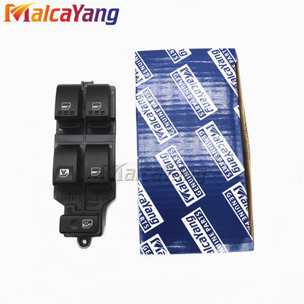 Front Right Power Window Regulator Master Switch For