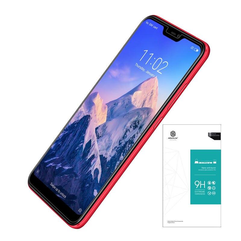 Galleria fotografica Xiao mi rosso Mi 6 pro temperato Di Vetro rosso Mi 6 pro di vetro 5.84 ''nillkin incredibile h 0.33 Mm protezione dello schermo per mi A2 LITE