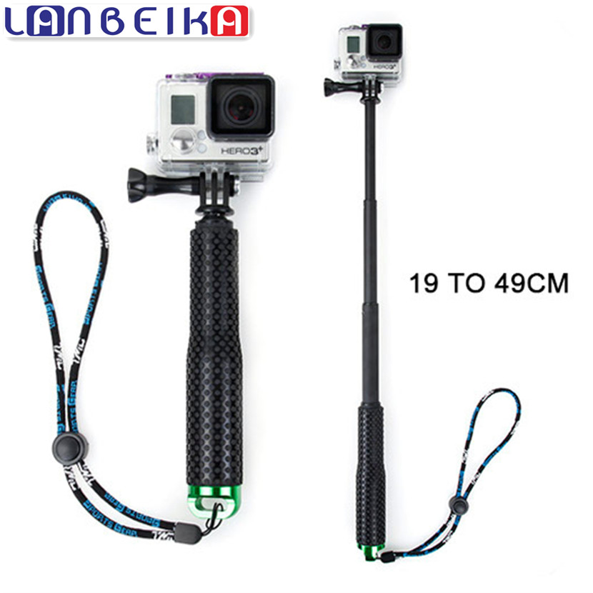 LANBEIKA For Gopro 36 Inch SP POV Pole Extendable Self Selfie Stick Handheld Monopod for Gopro