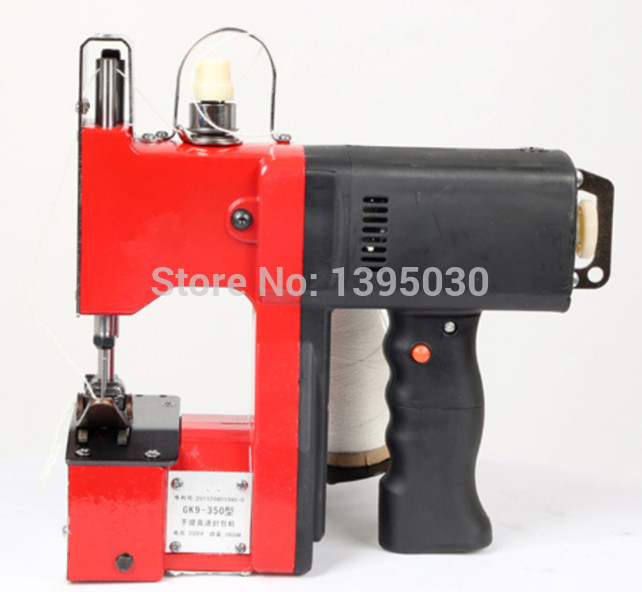 1PC GK9 350 Manual Sewing Machine Hand Bag Sewing Machine Automatic Tangent Hand Woven Sewing Machine 220V