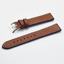 Women Watch Strap 18mm 20mm 22mm Retro Genuine Leather Wrist Band Belt Watchbands Accessories  #D