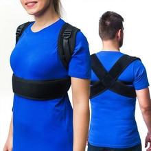 Upper Back Posture Corrector Adjustable Clavicle Brace Correct Shoulder Support Strap Correction Belt Drop Ship