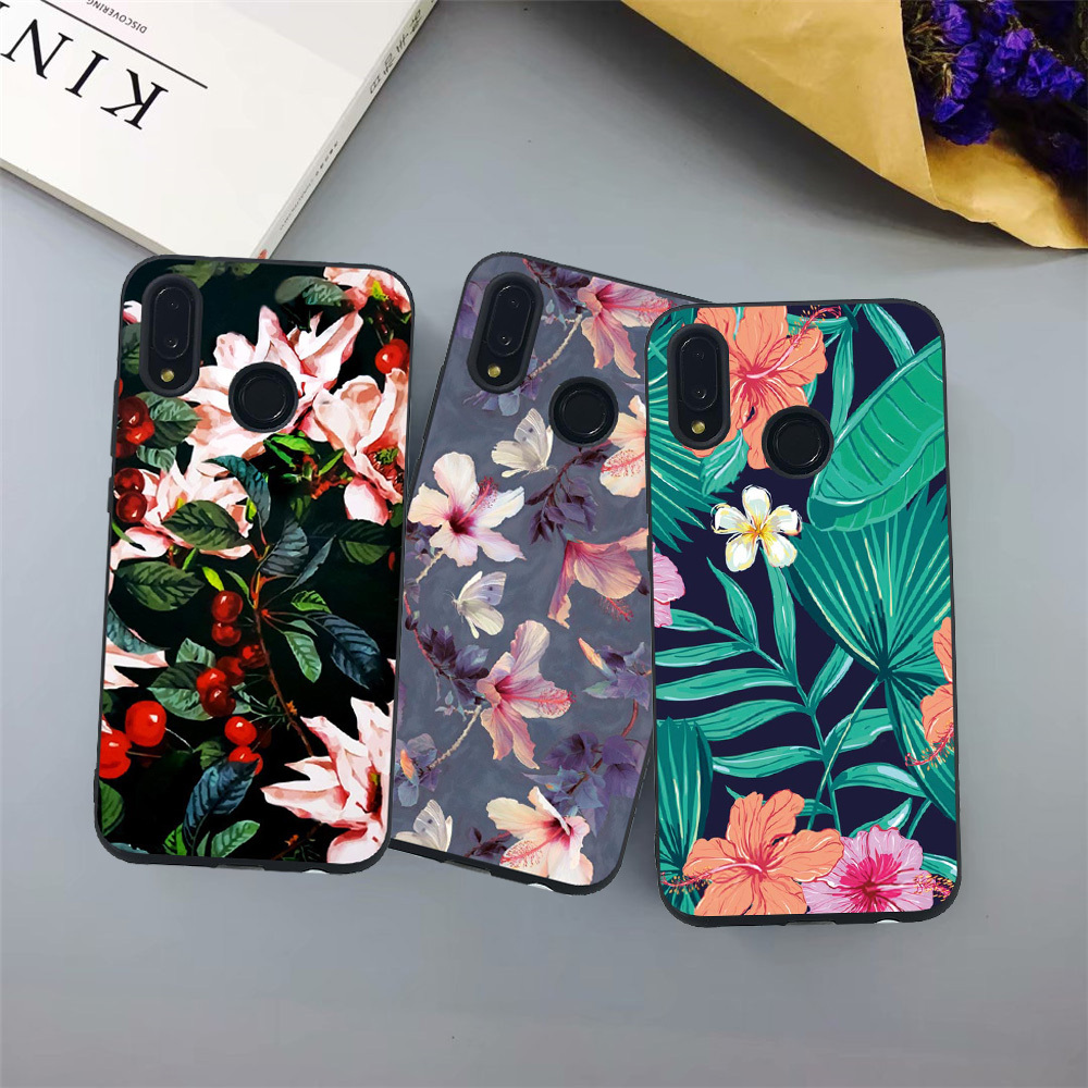 <font><b>Case</b></font> For <font><b>Huawei</b></font> Honor 10 Lite 8C 8A V20 Soft <font><b>Cover</b></font> Cool Cat Fish Love Heart For <font><b>Huawei</b></font> 9i 9N <font><b>Y9</b></font> <font><b>2019</b></font> Nova 4 Enjoy 9 Plus Fundas image