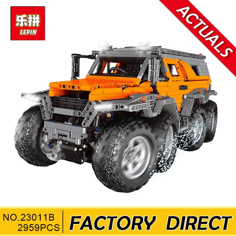 Lepin23011 23011B 3021 Pz Technic Serie Off-road del veicolo di Costruzione di Modello Kit Blocco di Mattoni Educativi Giocattoli Regalo Compatibile 5360