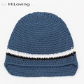 2016 New Brand Children's Handmade Hat Kids Crochet Hats For Baby Girls Boys Cotton Knitted Skullies Beanie Cool Gorros Bonnet