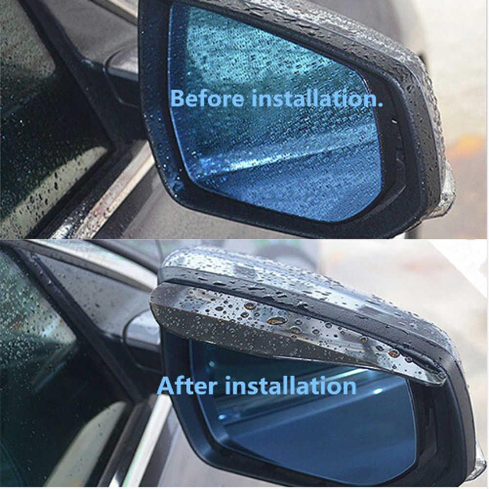 1 paar auto rückspiegel regen augenbraue sonnenblende für Mitsubishi ASX/Outlander/Lancer Evolution/Pajero /Eclipse/Grandis