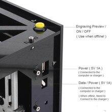 NEJE 300 МВт DK-8 PRO-3 Разрешение Высокая Скорость USB DIY Лазерный Гравер Резак Машина Принтера