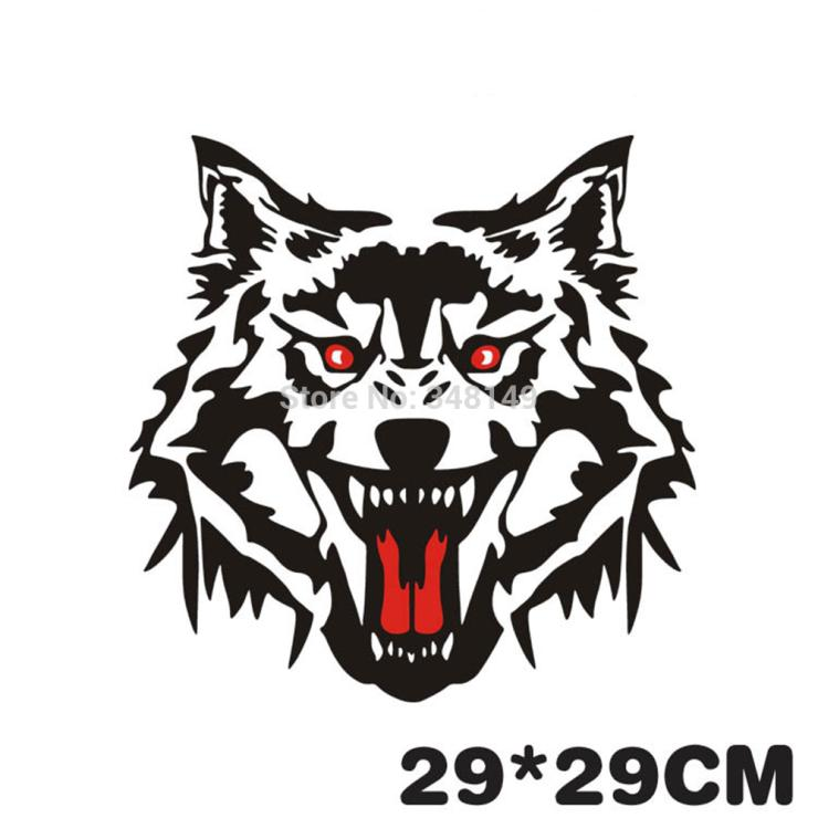 aliauto car styling wolf head car sticker decals spare tire box Spare Tires in New Cars aliauto car styling wolf head car sticker decals spare tire box accesories for chevrolet cruze ford focus volkswagen polo golf in car stickers from