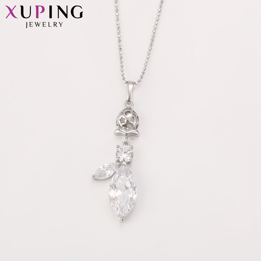Xuping Fashion Luxury Charm Popular Style Set With Synthetic CZ for Women Girls Imitation Jewelry Sets for Party S71,2-62195