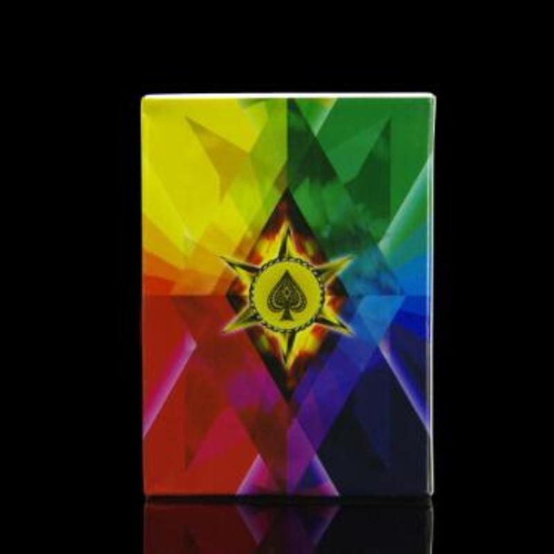 Beifang Magic - C043Manipulacija Četiri boje Fanning tanke palube dijamant igra karticu magiju trikove