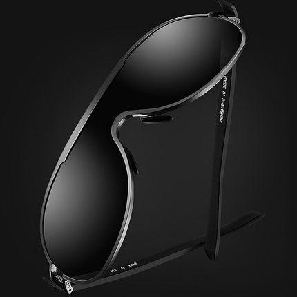 Ophier titanium de la aleación de gafas de sol de los hombres polarizados de conducción gafas de sol para hombre gafas de sol de diseñador de la marca oculos gafas de sol de recubrimiento