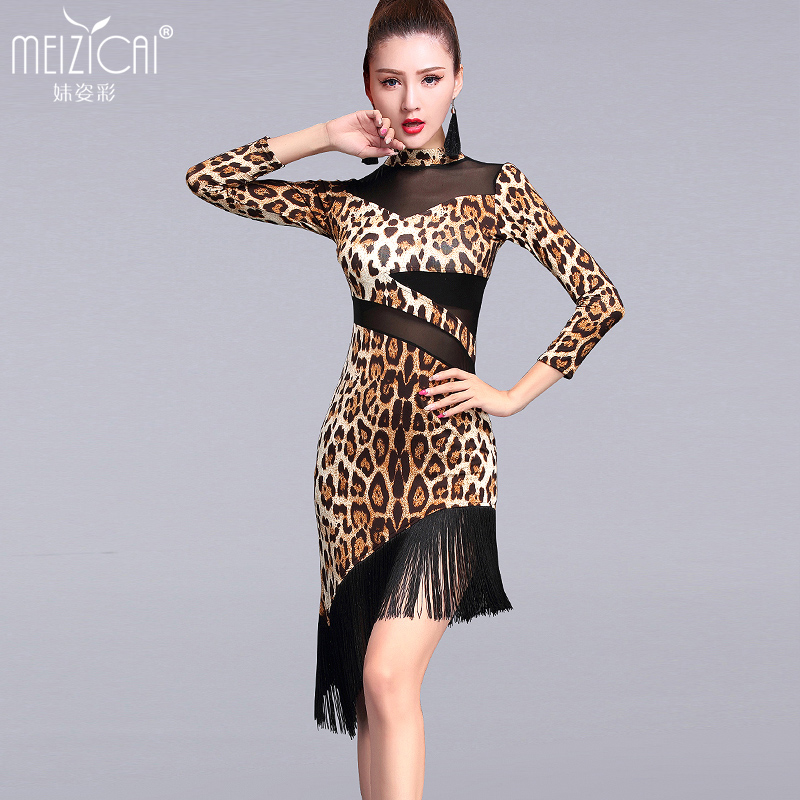 New Latin dance costumes women tango salsa rumba modern dance dress latin dancing clothes Dancewear M, L, XL LY7026