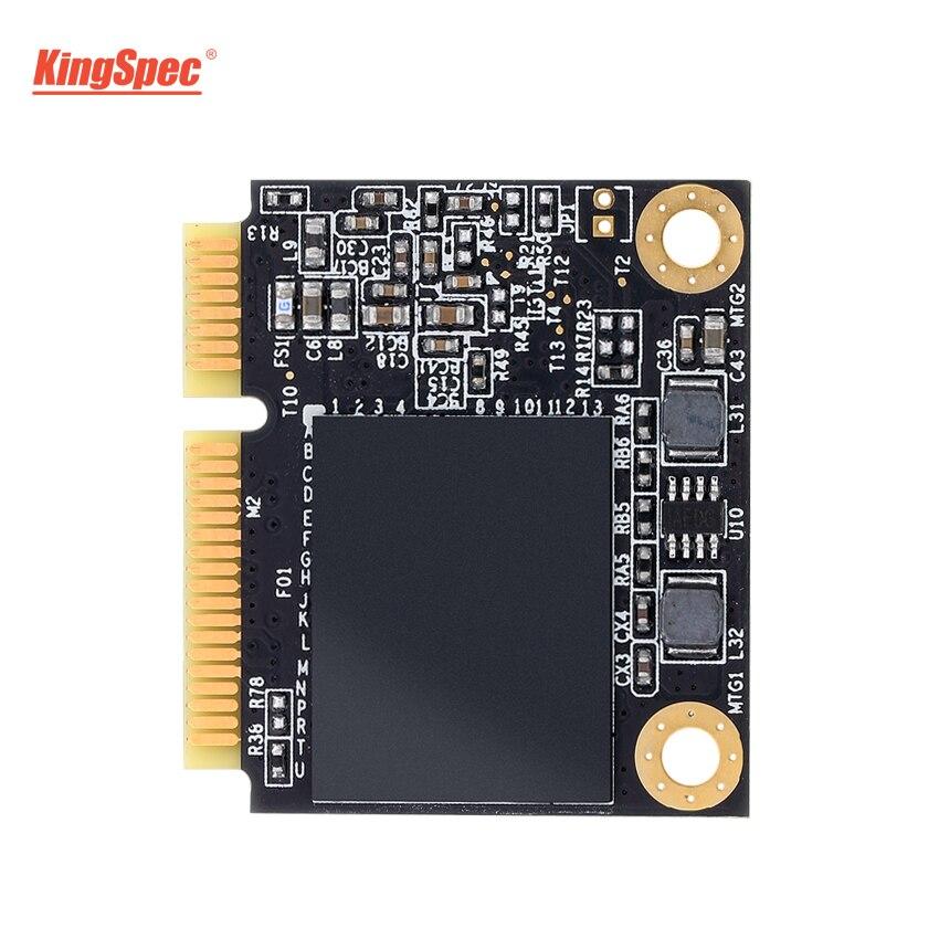 KingSpec 256GB demi-taille mSATA SSD interne 512GB 500GB disque dur Module à semi-conducteurs pour mi pour Asus X501LA/N551JM/TP500l