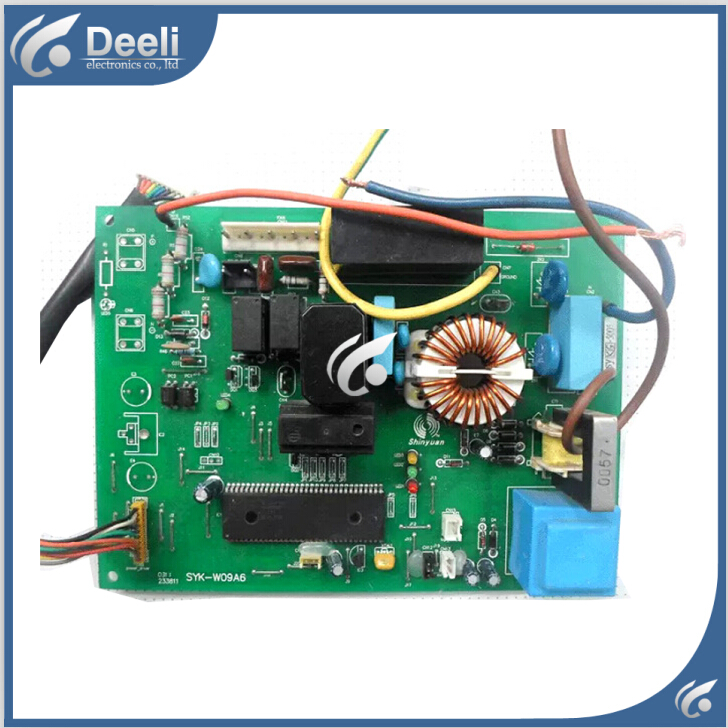 95% new good working for air conditioning motherboard Computer board SYK-W09A6 good working 95% new good working