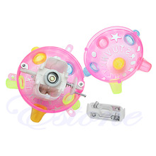 Jumping Joggle Flashing Light Up Bouncing Vibrating Sound Music Kid Toy Ball
