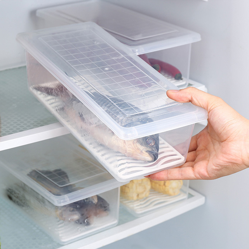 Food-Fresh-Storage-Box-Containers-Kitchen-Fridge-Organizer-Case-Removable-Drain-Plate-Tray-For-Keep-Fruits