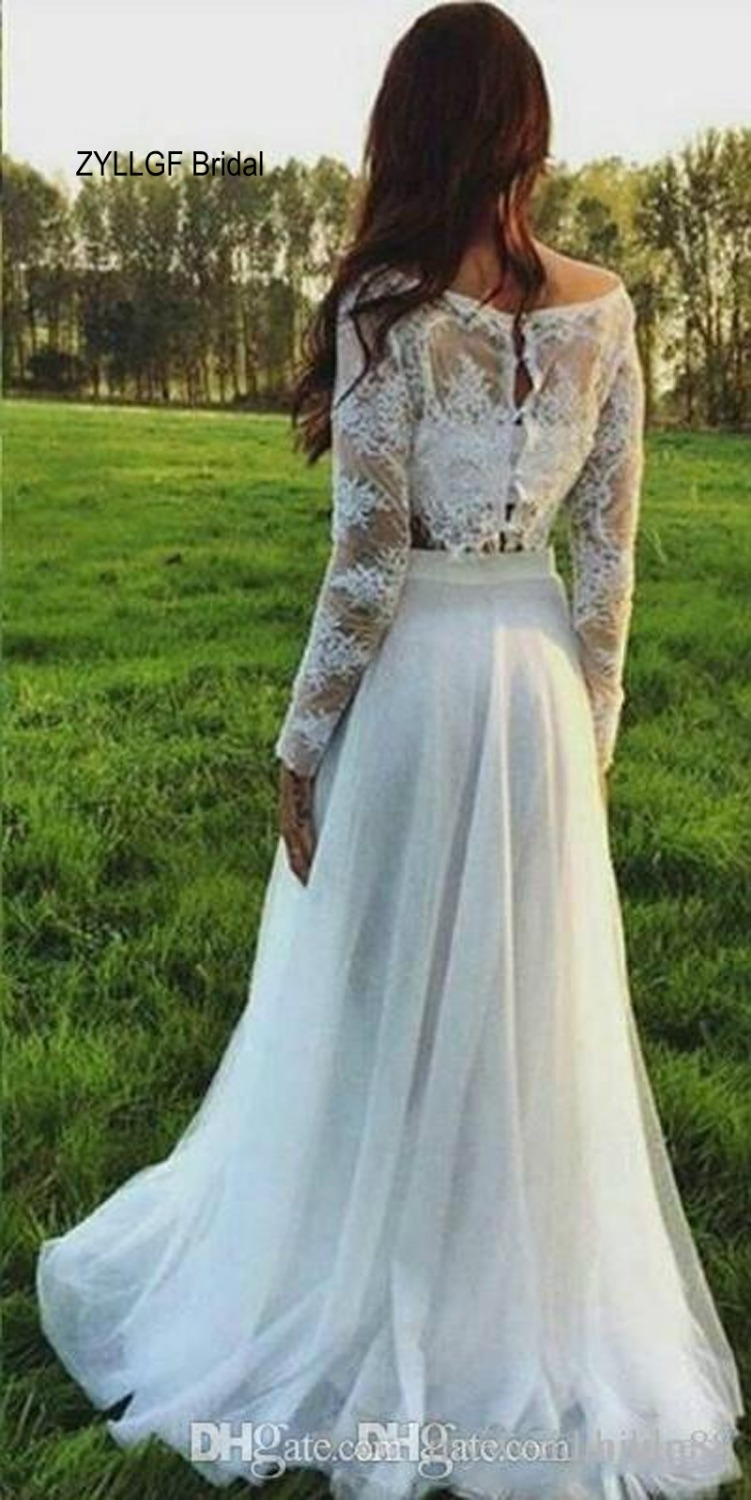 Funky Two Piece Wedding Dresses Mold - All Wedding Dresses ...