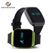 New E07S Bluetooth Wristband Bracelet V4.0 Waterproof IP67 Pedometer Sleep Tracker Smartband For iOS Android PK Mi Bnad TW64 I5