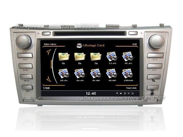 Pour Toyota Camry Solara 2004 ~ 2008-système de Navigation GPS + Radio TV DVD BT iPod 3G WIFI HD système multimédia d'écran
