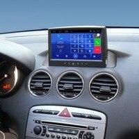 Обновленный оригинальный Android 7,1 автомобиль радио плеер костюм для peugeot 408 Автомобиль видео плеер встроенный Wi Fi gps Bluetooth