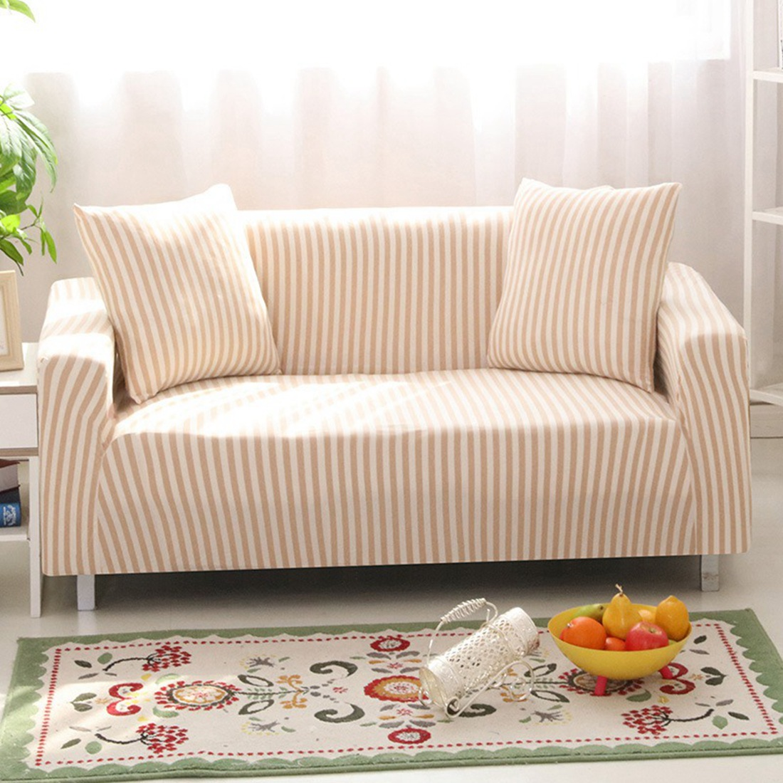 Latest Design Sofa Covers Elegant Sectional Bed New Slipcover Seat Couch Cover Elastic