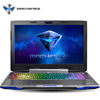 Aluminium Gaming Notebook Machenike F117 F6K SSD 256GB Intel Core I7 7700HQ GTX1060 6GB RAM 8GB