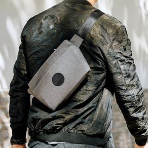Image 1 - NewBring Summer Small Sling Bag Hip Waist Packs Shoulder Bum Belt Bags For Men Fanny Bag Waterproof Phone Money New Male Female