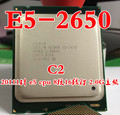 Intel Xeon E5 2650 SR0KQ C2 ПРОЦЕССОР E5-2650 8 CORE 2.0 Г 20 М C2 Octa Core процессоров Для Настольных Пк (работает 100% Бесплатная Доставка)