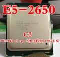 Processador intel xeon e5-2650 cpu e5 2650 sr0kq c2 8 core 2.0g 20 m c2 octa núcleo do processador para desktop (trabalhando 100% Frete Grátis)