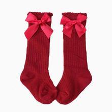 Новинка 2019 детские носки с бантом хлопковые Пузырьковые милые