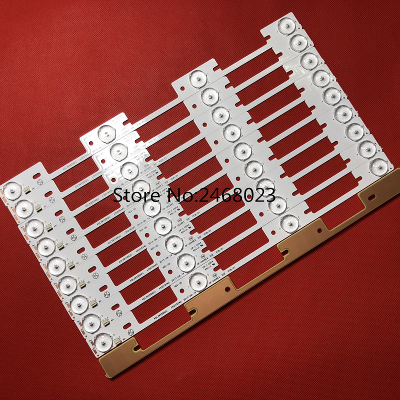 New 20 Pieces 4 LEDs 6V LED strips working for TV KDL39SS662U 35018339 KDL40SS662U 35019864 327mm