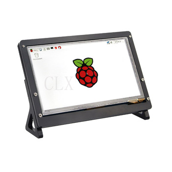 Raspberry Pi 3 Model B 7 Inch 1024*600 TFT Capacitive Touch Screen + Acrylic Stander + HDMI Cable + USB Cable Kits