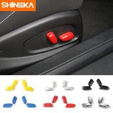 Декоративные кнопки регулировки сиденья shineka abs для chevrolet