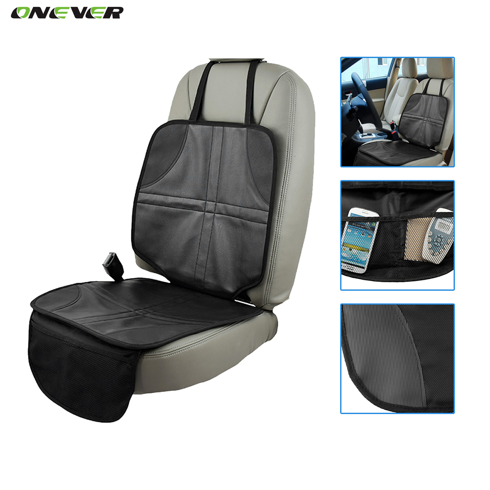 Luxury Leather Car Seat Protector Child Or Baby Car Seat