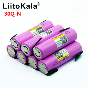 Image 2 - Litokala オリジナル 18650 バッテリー INR18650 30Q 20A 3000mah 放電リチウムイオン充電式 18650 バッテリー