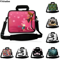 Viviration Soft Shoulder Computer Bag Women Girls Zipper Tablet PC Cover Case 10 5 9 6
