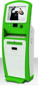 17 19 Inch Display Inquiry Signage Touch Screen Self Service Information All In One Pc IC ID Card Payment Kiosk Terminal