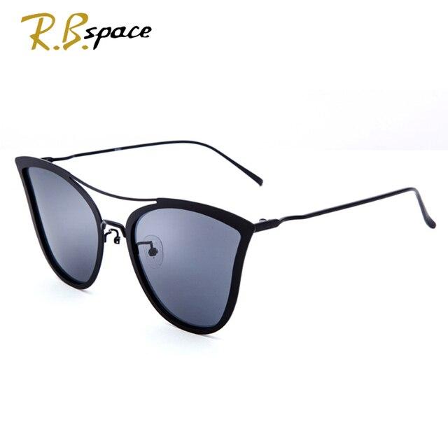 ab598a48437b7 2018 Novos Óculos De Sol mulher Gato Olho Óculos polarizados marca de Moda  designer de armação