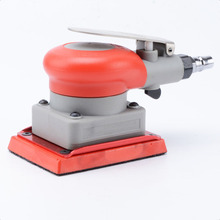 цена на Pneumatic sander square rail polishing machine 75 * 100mm surface grinder fine sanding anti-skid pneumatic tools
