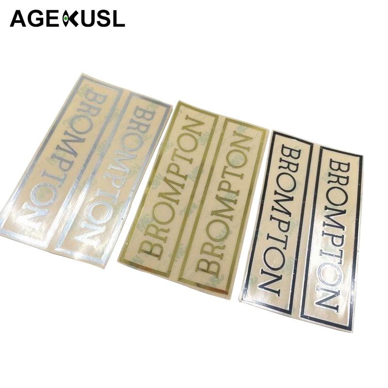 TWTOPSE Metallic Frame Decal Sticker For Brompton Bike Bicycle Frame Handlebar Stickers brompton stickers
