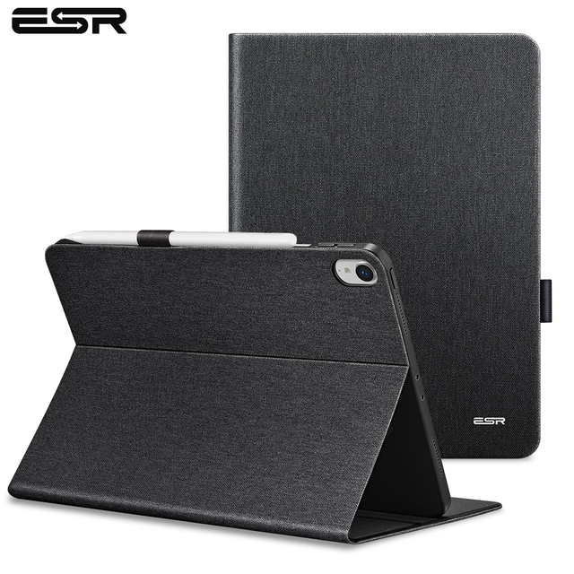 timeless design d7ddb d59eb US $17.19 30% OFF|ESR Case for iPad Pro 11 2018 Simplicity PU Leather Smart  Cover Folio Case Auto Wake Cover Case for New Apple iPad Pro 11 2018-in ...