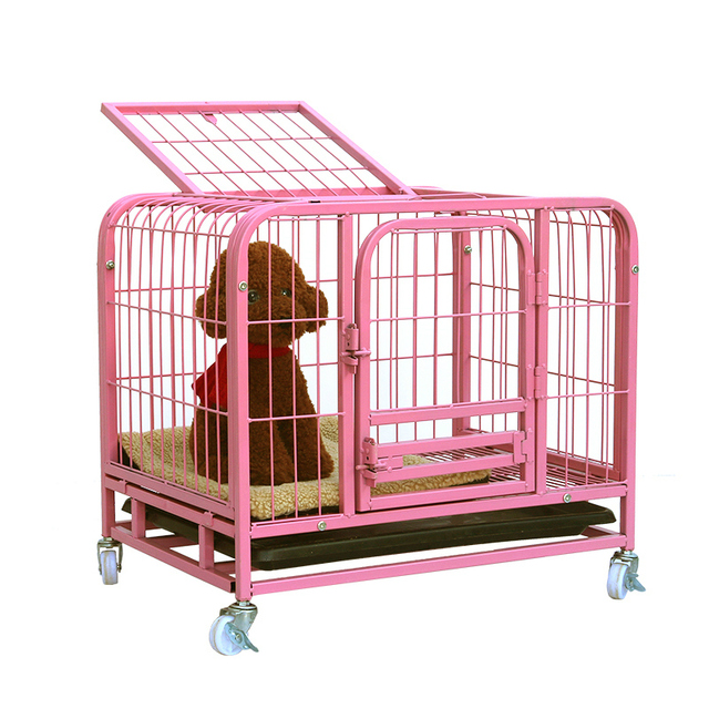 Lk1611 Best Quality Pet Kennel For Dog Cat Double Door Pet Cage With