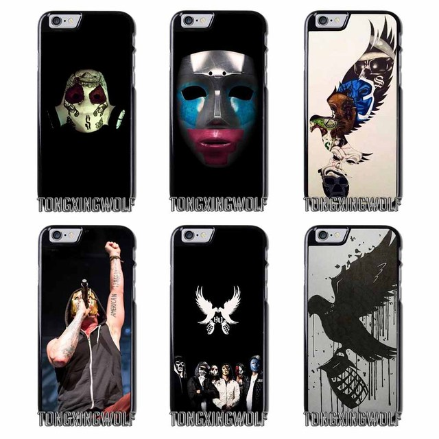 Hollywood Undead Mask Cover Case For Samsung S4 S5 S6 S7 S8 Eege Plus Note 2