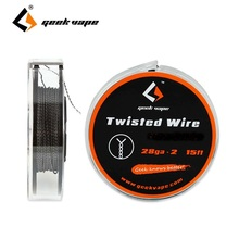 Original 5m GeekVape Twisted Atomizer DIY Double KA1 Tape Wire 28GA * 2 for Electronic Cigarette DIY Accessories Vapor