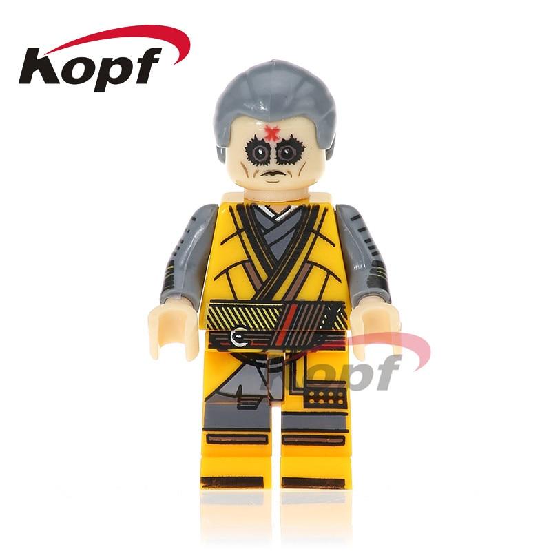 Single Sale Super Heroes Homecoming Iker Casillas Matt Murdoch Ghost Rider Spiderman Building Blocks Toys for children PG258
