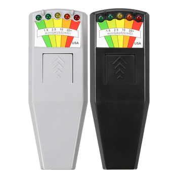KII K2 Electromagnetic Field EMF Gauss Meter Ghost Hunting Detector Portable EMF Magnetic Field Detector 5 LED Gauss Meter