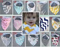 New 2016 Super Soft Cotton Newborn Baby Bibs Animal Arrow Chevron Cartoon Bandana Baberos Bavoir Baby Towel babador Dribble Bibs