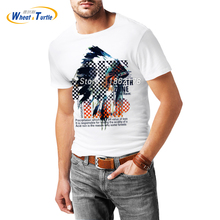 Summer Short Sleeve Men's T-shirt Unisex 3D Printed Tshirt Male Female White Cotton Tees Top Clothing TeeShirt Homme De Marque